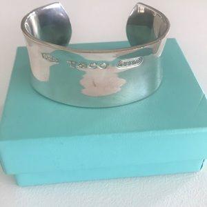 Tiffany & Co 1837 Original SS bracelet Heavy Cuff